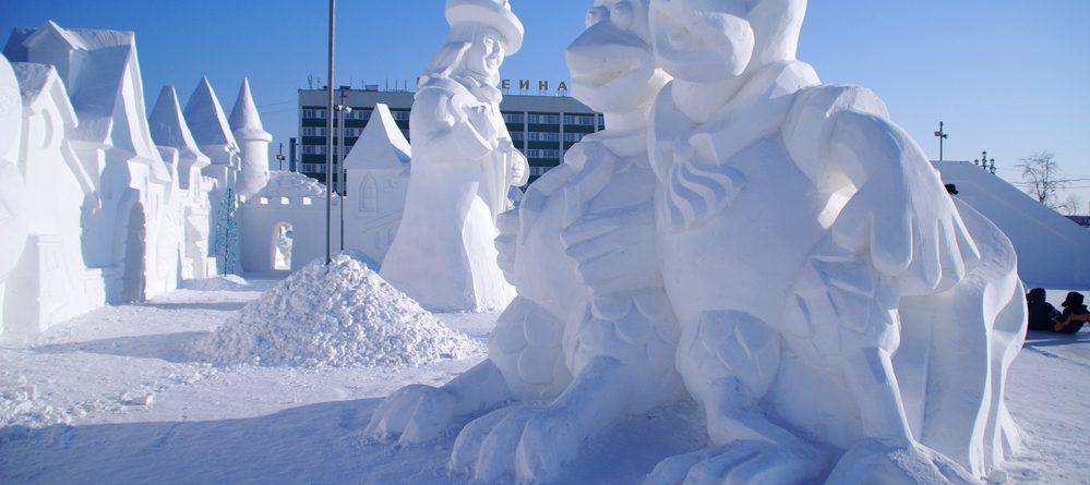 international snow sculpture championships in Breckenride