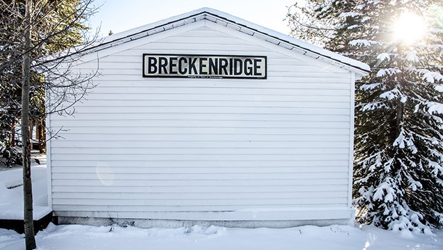 Iconic Breckenridge Sign