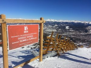 top of Imperial chair breckenridge
