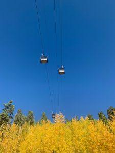 breckconnect gondola in fall